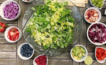 Fruits et légumes sont la base d'une alimentation réussie pour le sportif d'endurance